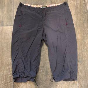 Eddie Bauer Capri Cropped Hiking Pants Size 14
